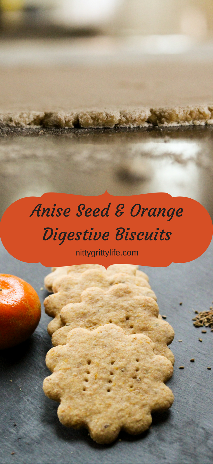 Anise Seed & Orange Digestive Biscuits
