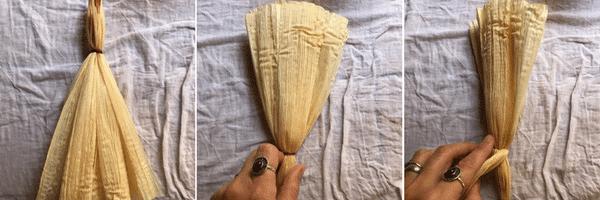 corn dolly steps 4-6