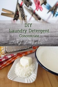 DIY Laundry Detergent Concentrate