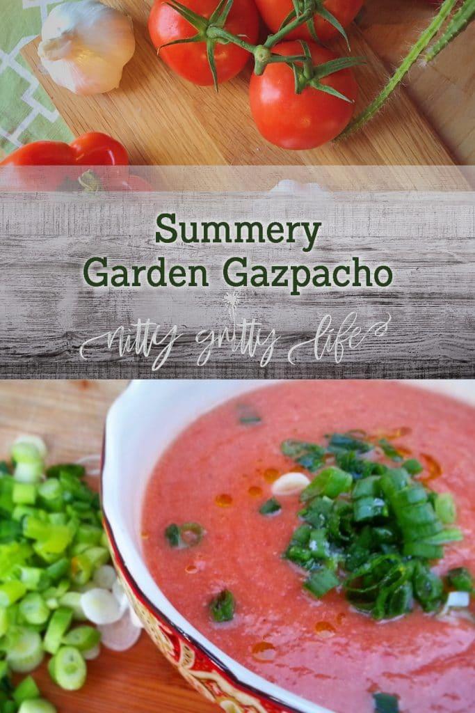 Summery Garden Gazpacho