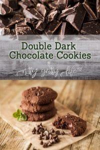 Double Dark Chocolate Cookies