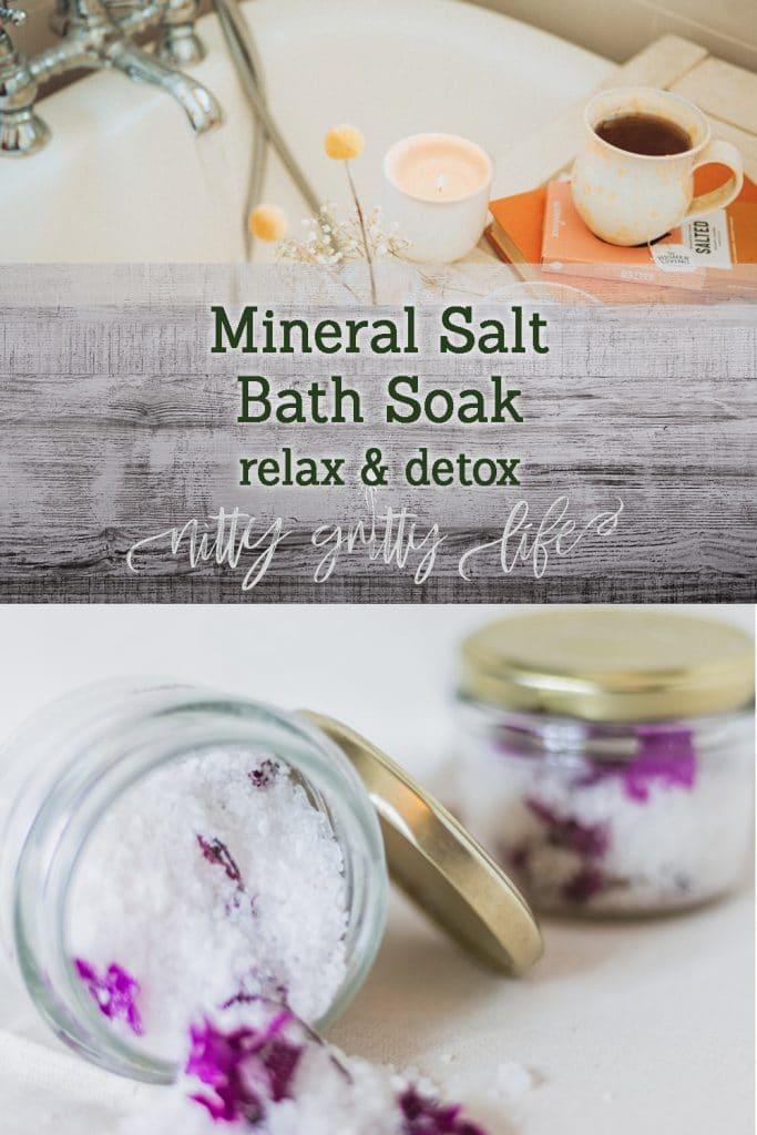 Mineral Salt Bath Soak