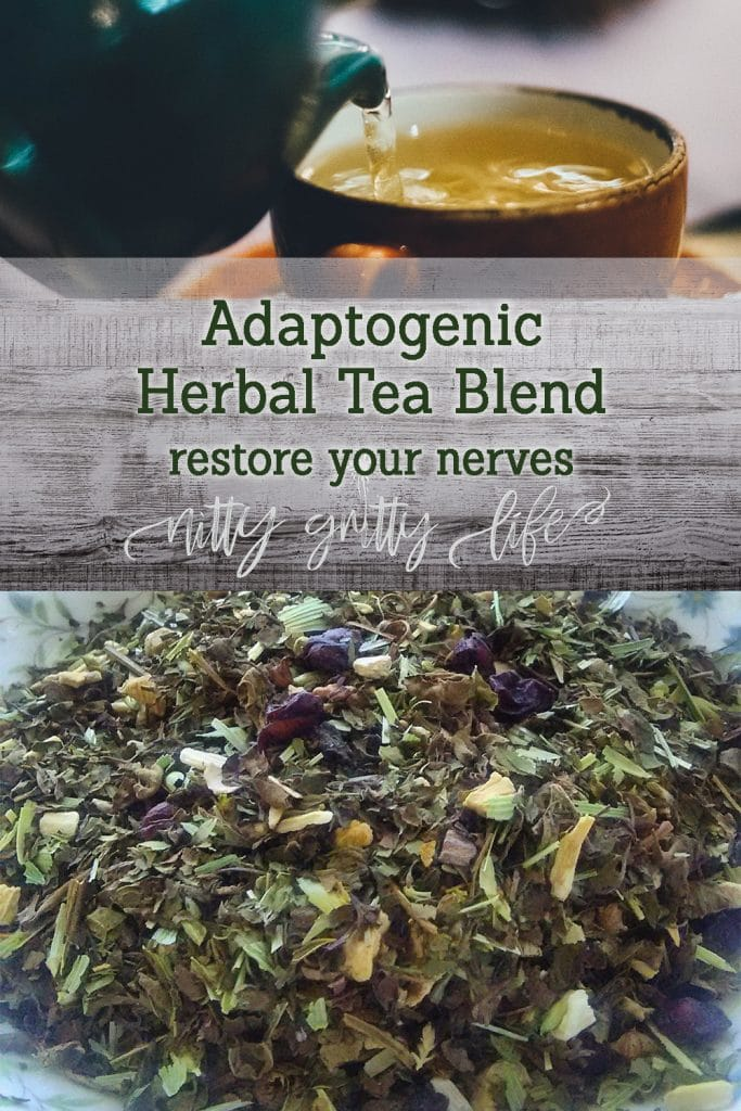Adaptogenic Herbal Tea Blend