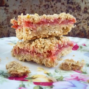 rhubarb bar cookies