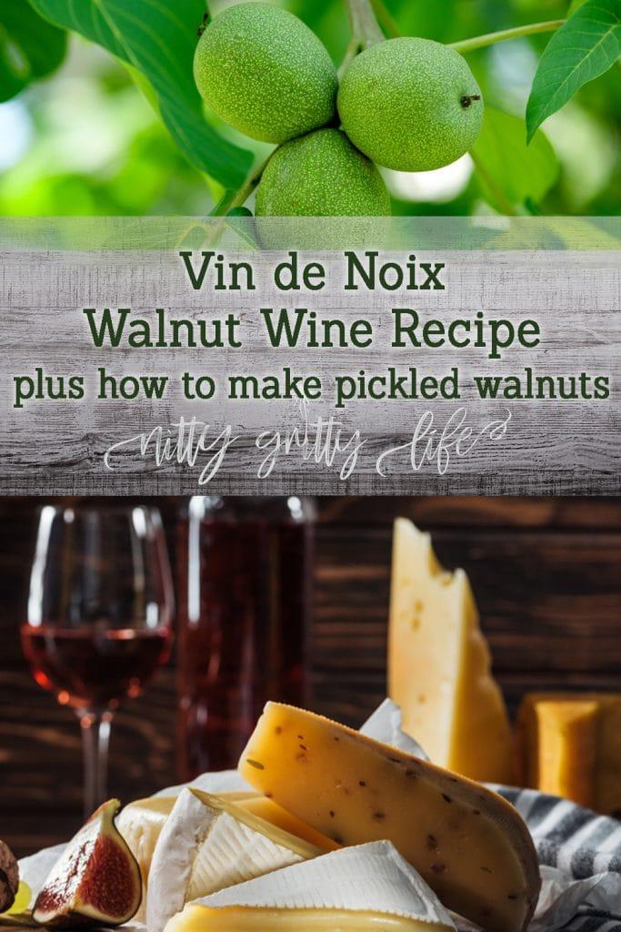 Walnut Wine Recipe