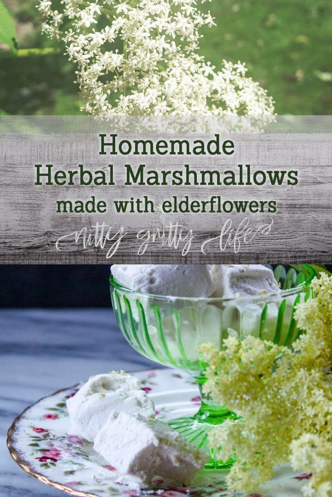 Elderflower Marshmallows