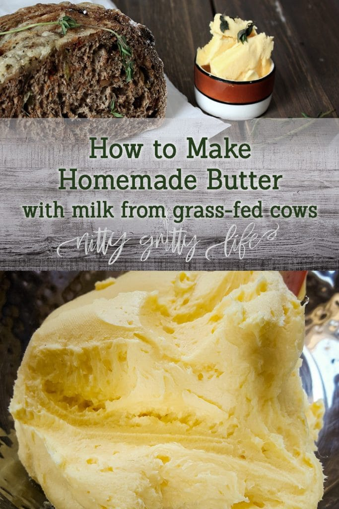 Homemade Butter