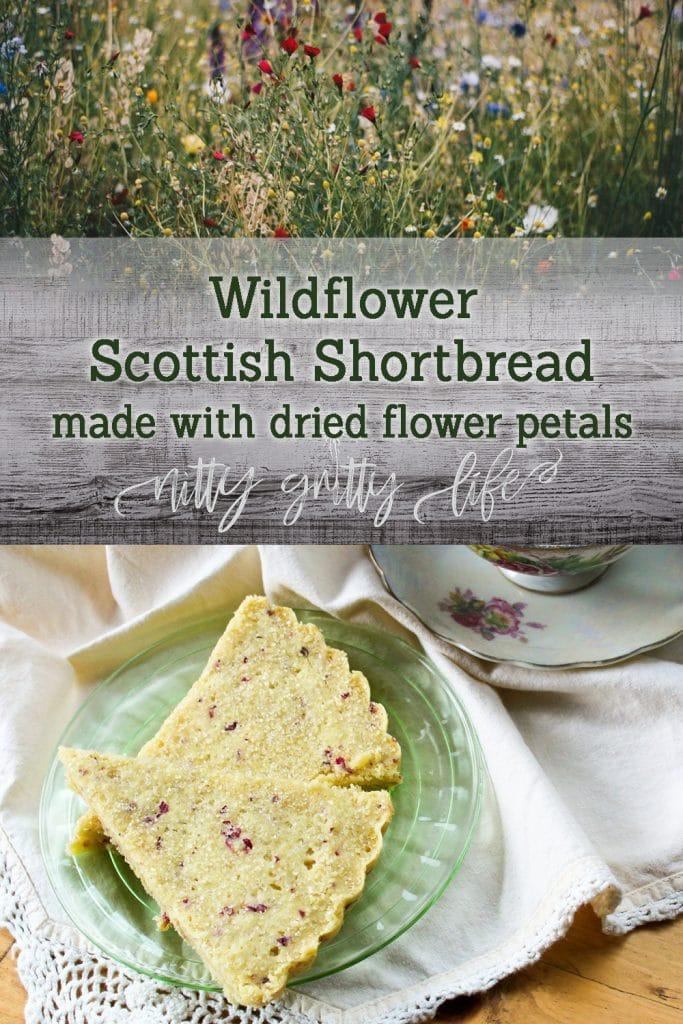 Wildflower Scottish Shortbread