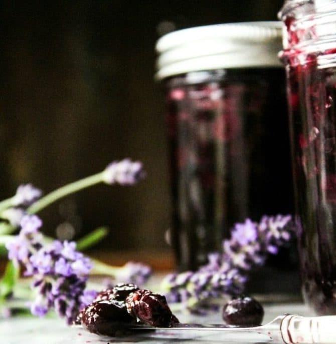 Blueberry Lavender Jam