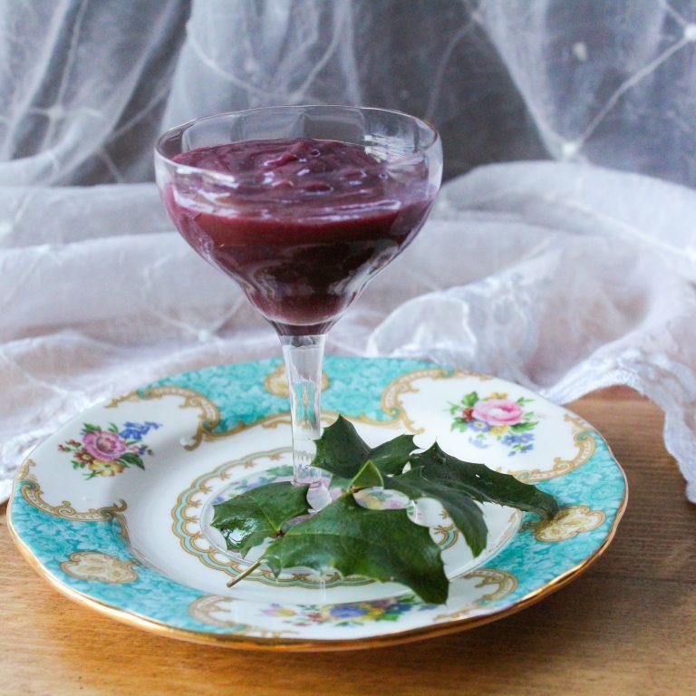 Foraged Oregon Grape & Lemon Curd