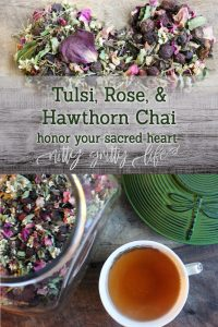 Tulsi Rose and Hawthorn Chai