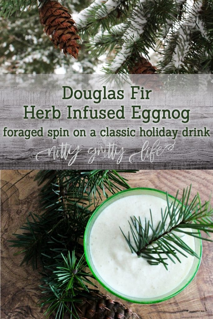 Douglas Fir Eggnog Recipe
