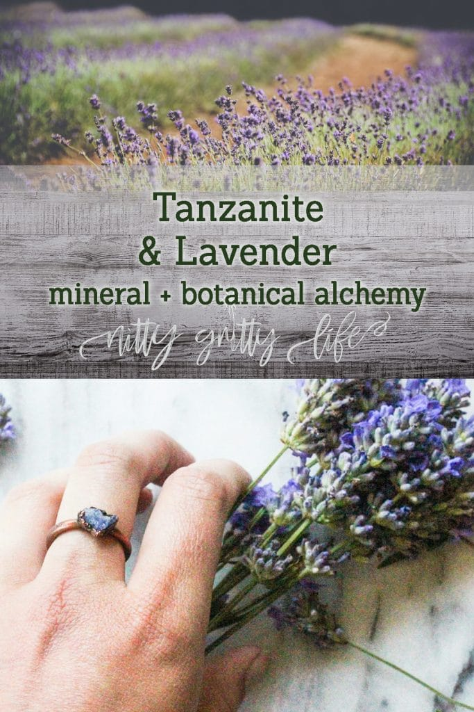 Tanzanite and Lavender