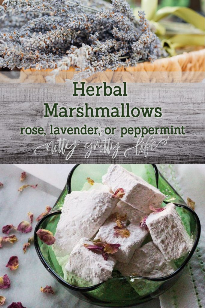 Herbal Marshmallows