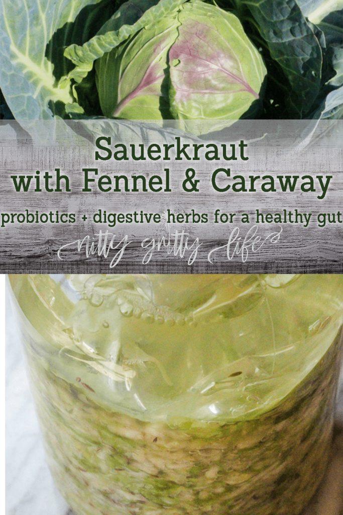 Sauerkraut with Digestive Herbs