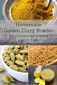 Homemade Golden Curry Powder