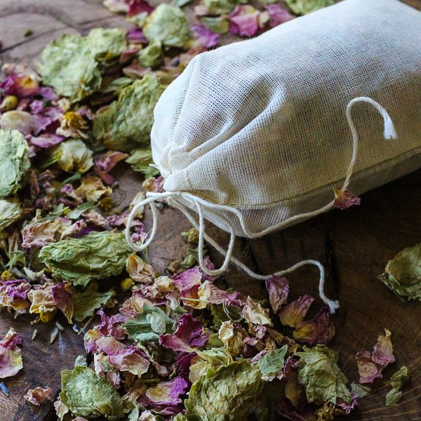 This hops pillow sachet is practically guaranteed to induce a restful nights sleep!