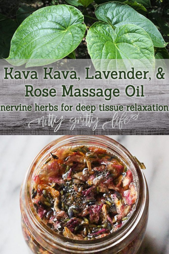 Kava Kava Massage Oil