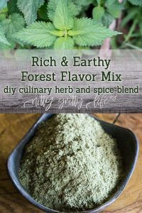 Forest Flavor Herb and Spice Mix