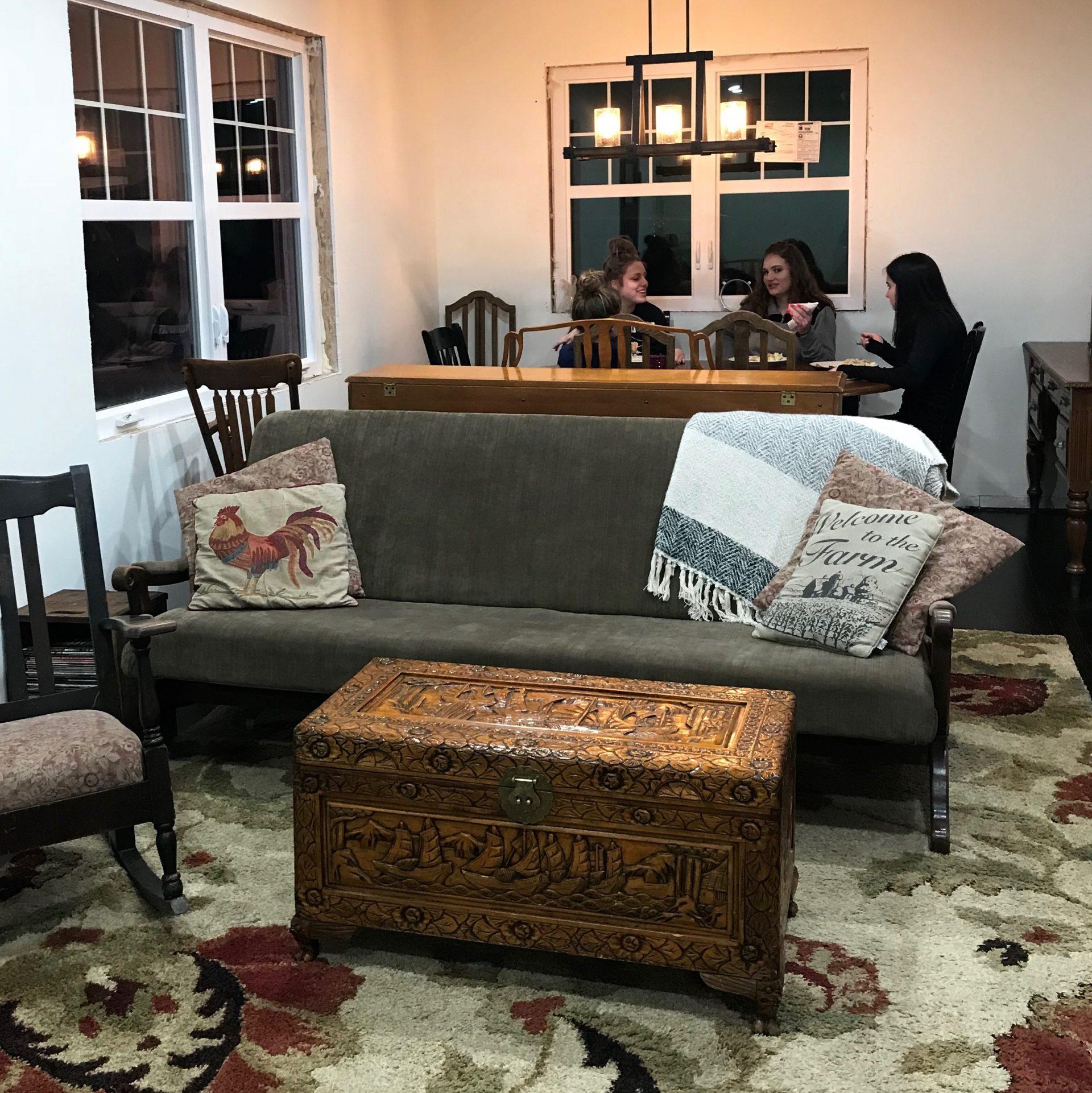 Living Through A Renovation