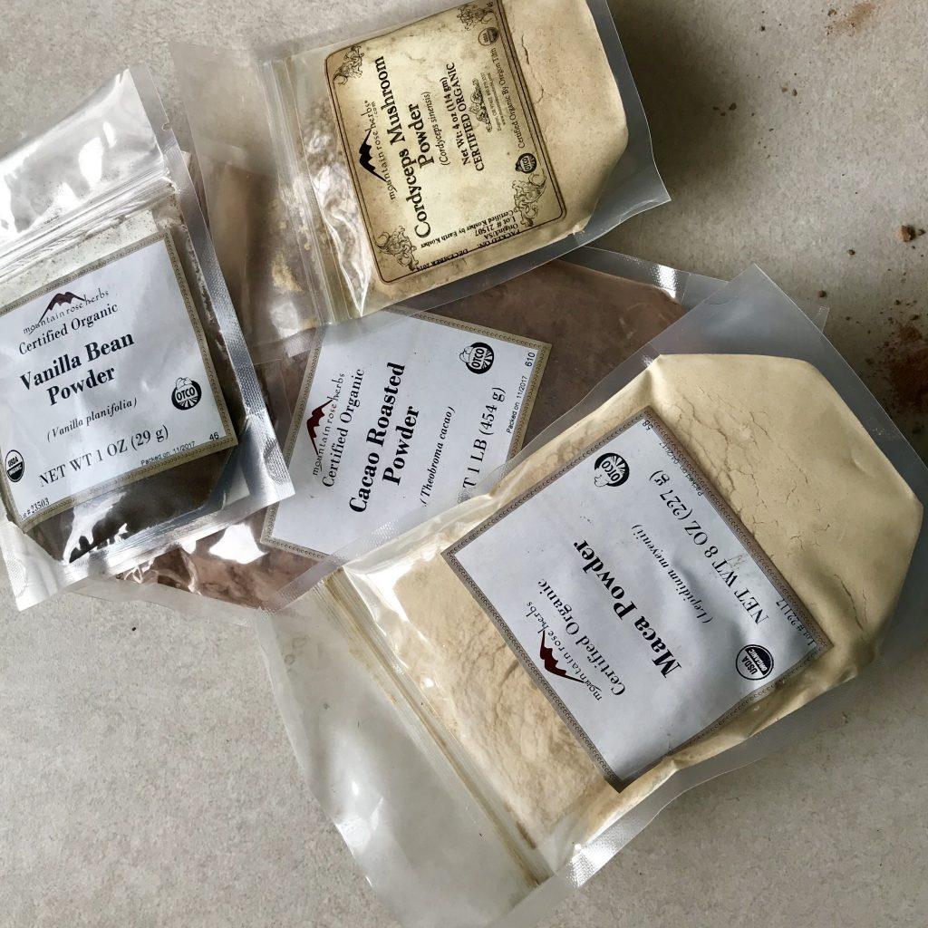 superfood cacao shake ingredients