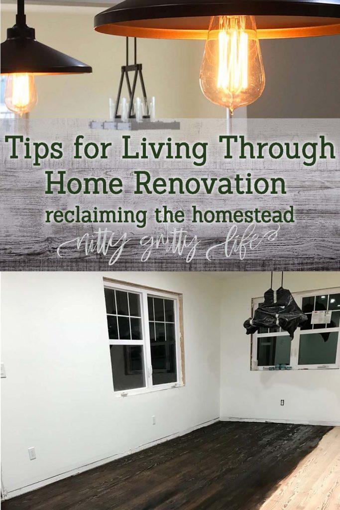 Living Through Home Renovation