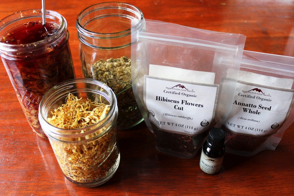 herbs for cold press soap