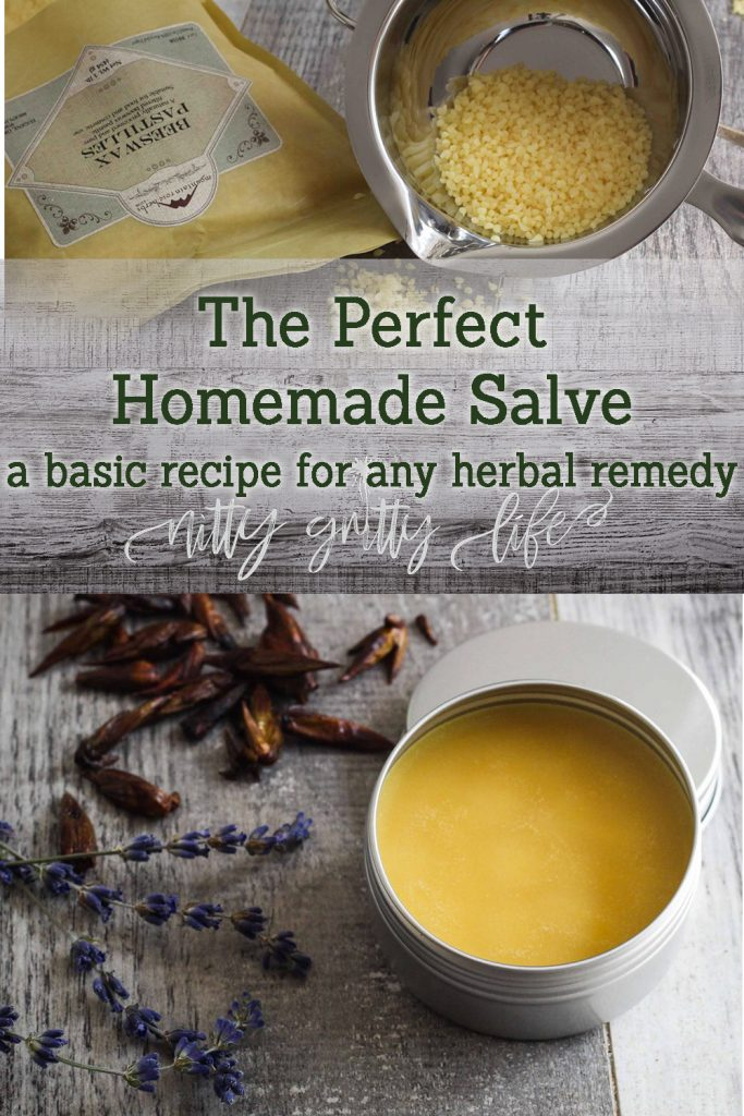 The Perfect Homemade Salve