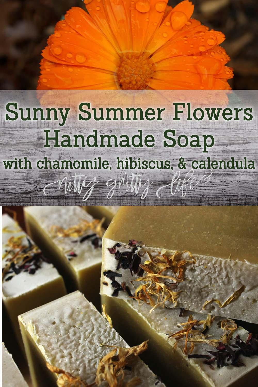 Summer Flowers Soap Recipe