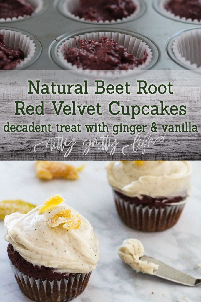 Red Velvet Cupcakes with Beet Root