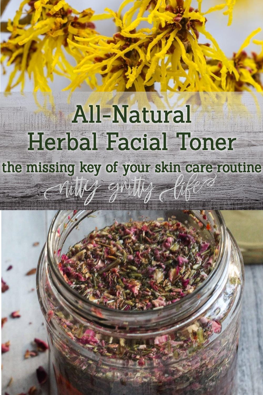 Herbal Facial Toner