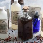Facial toners are an often overlooked part of a good skincare regime. This all natural homemade toner with witch hazel, aloe, vegetable glycerin and soothing herbs is moisturizing and can be adjusted to suit any skin type!