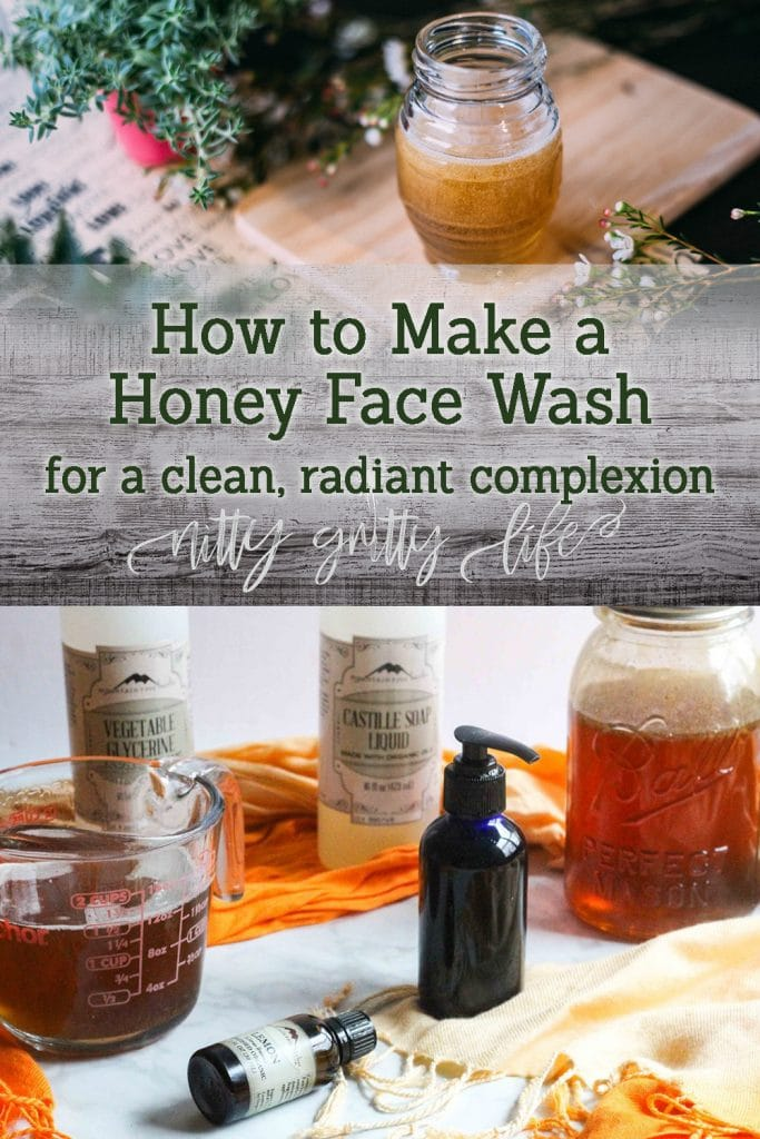 How to make a honey face wash for a clean radiant complexion