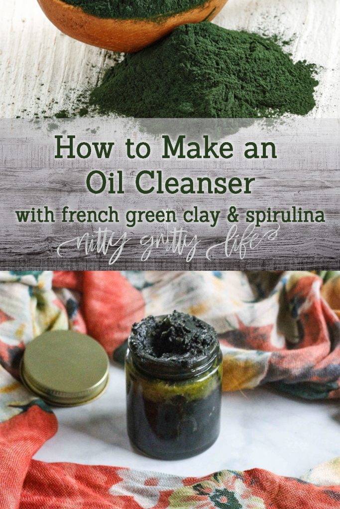 French Green Clay Spirulina Oil Cleanser