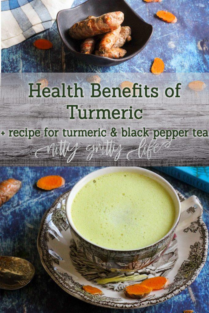 Turmeric and Black Pepper Tea