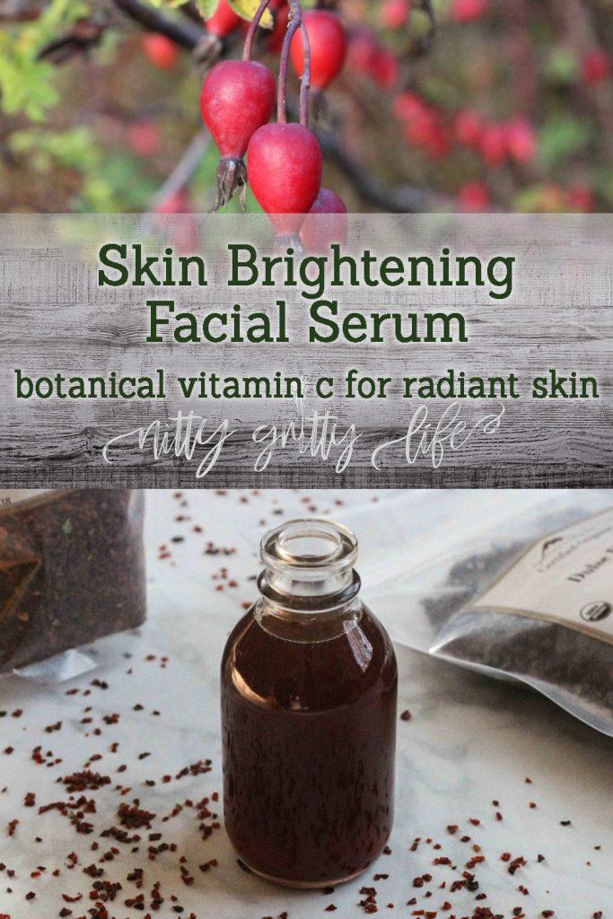 Skin Brightening Facial Serum
