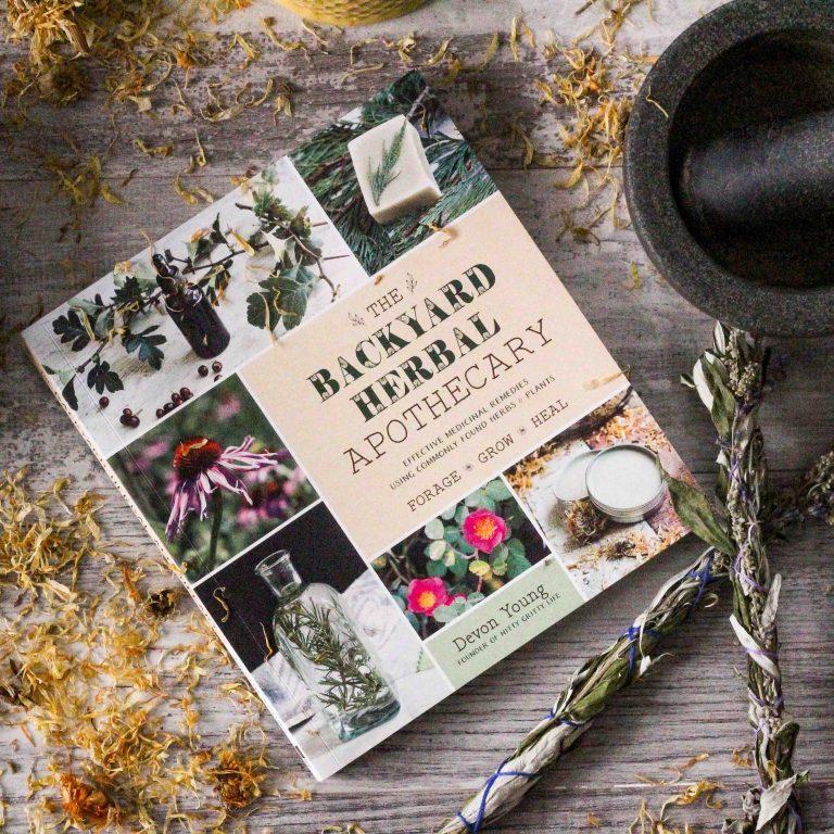 The Backyard Herbal Apothecary Book
