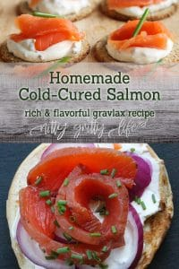 How to cold cure salmon (gravlax)