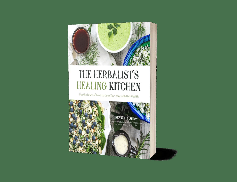the herbalist's healing Kitchen 3d rendering