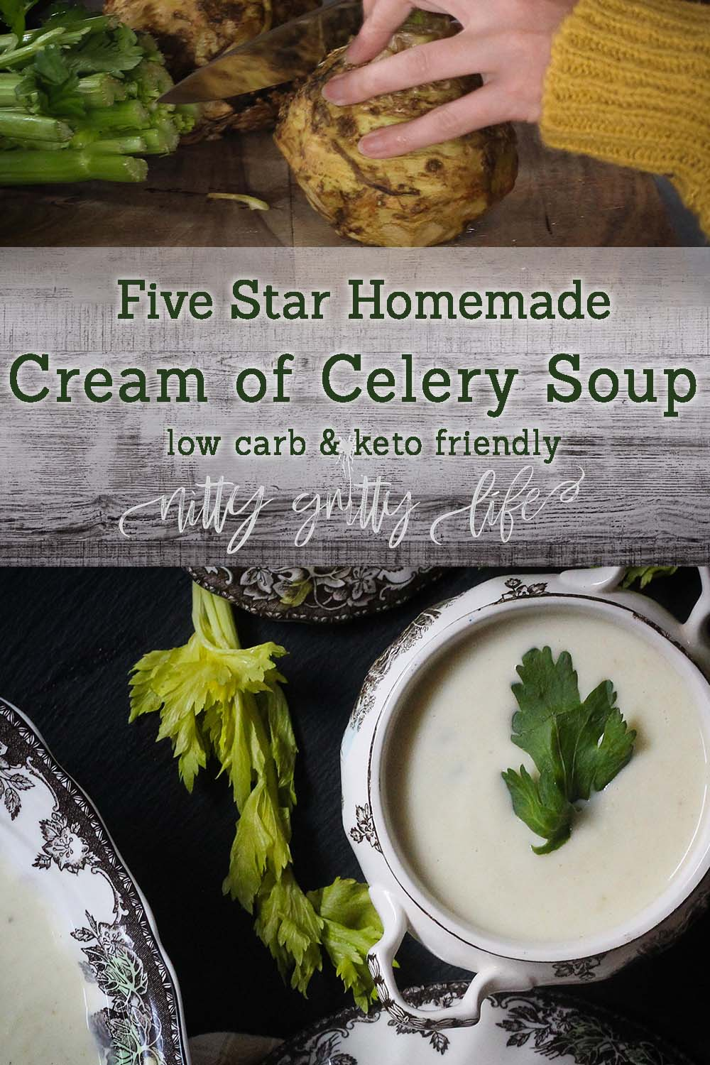 cream of celery soup pin