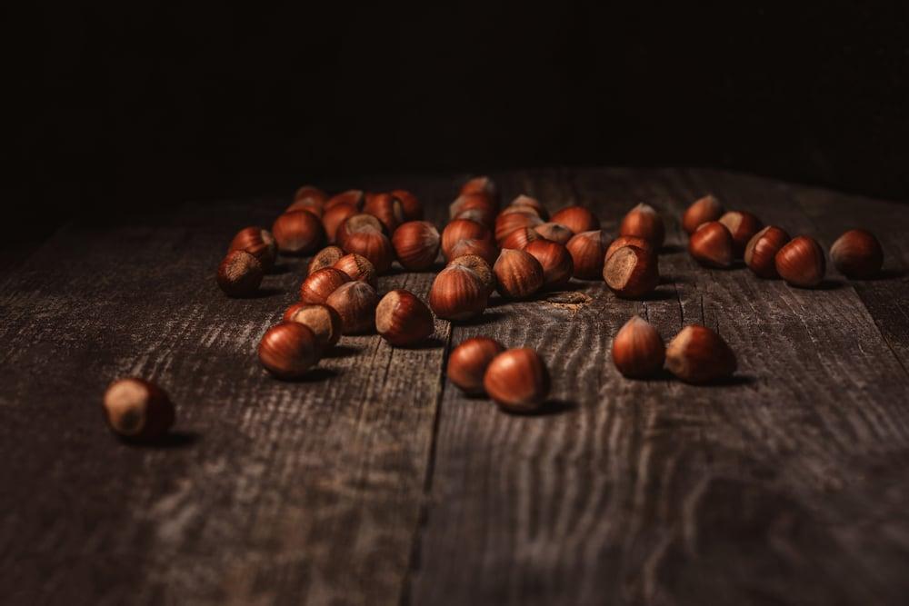 hazelnuts for gluten free tart shell