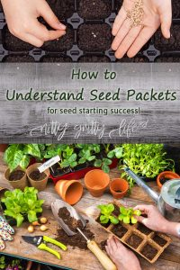 how to understand seeds packets pin